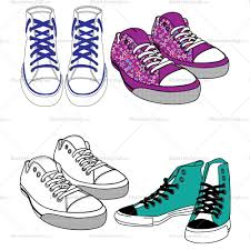 converse shoes clipart. converse shoes fashion flat template clipart