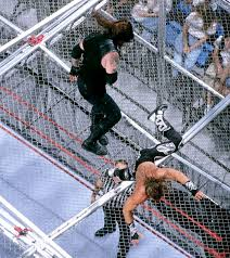 Image result for undertaker vs shawn michaels badd blood 1997