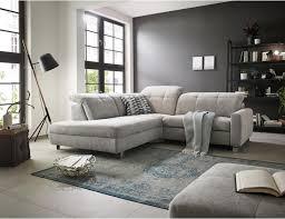 Wohnlandschaft In Textil Hellgrau Sofas Couches In 2019