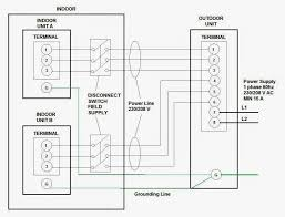 electrical wiring diagrams for air conditioning systems part two fig 17 multi split air conditioners power wiring
