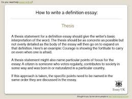 examples of definition essay topics response essay definition  choose a topic topic is a question about a definition of a term or itspanic noun