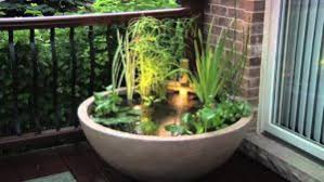 container water garden. Contemporary Garden Lighted Fountains Offer Drama At Night With Container Water Garden