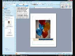 how to create a birthday card on microsoft word the basics and how to make a birthday greeting card on microsoft