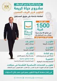 """الإعلام"""" تنشر ملامح المبادرة الرئاسية """"حياة كريمة"""" لتطوير الريف  (إنفوجرافيك) - مجلة الحقيقة"""
