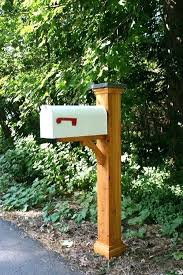 mailbox post plans. Interesting Mailbox Cedar Mailbox Post Sleeve Gardening  Ideas And Mail Boxes 6x6   Throughout Mailbox Post Plans
