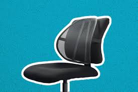 office chair back. Easy Posture Lumbar Support Office Chair Back