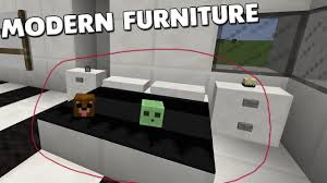 How To Make Bedroom Furniture Minecraft Modern Bedroom Furniture With No Mods How To Make