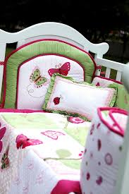 ladybug crib bedding lady bug baby bedding pink and brown ladybug crib bedding