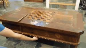 you have to be a wizard of puzzles to open the secret compartments on this harry potter themed table