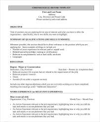 resume first job