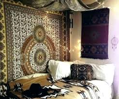Wall Bedroom Decor Cool Bohemian Wall Tapestry Bohemian Room Decor Bedroom Medium Size Of