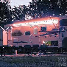 Awning Lights Warm Led Awning Lights Permanently Install On Your Rv