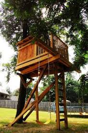 Best 25 Simple Tree House Ideas On Pinterest  Kids Clubhouse Treehouses For Children