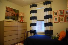 Navy And White Curtains Stunning Navy Blue Curtains House Interior Design Ideas