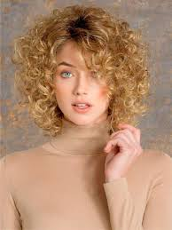 short hairstyles for fine curly hair photo 1