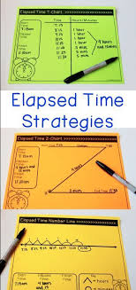 Z Time Chart Elapsed Time Unit Games Activities Assessments 3rd