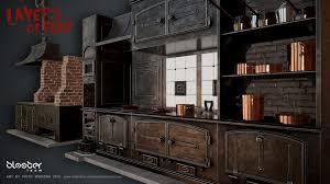Victorian Kitchen Piotr Mierzwa Victorian Kitchen Set Layers Of Fear