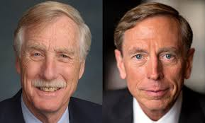 Senator Angus King in Conversation with Gen. (Ret.) David H. Petraeus on  Cyber Threats and Security in an Election Season - 92Y, New York