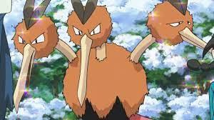 ¿Qué representan cada una de las tres cabezas de Dodrio, el Pokémon pajaro  de primera generación?