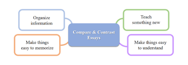 compare and contrast essay the three main functions of the compare and contrast essays are organize information teach