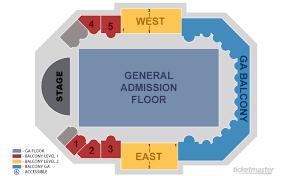 Symbolic Aragon Ballroom Seating Chart General Admission