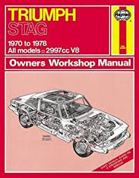 triumph stag owner s workshop manual haynes amazon co uk j h triumph stag 70 78 haynes repair manual