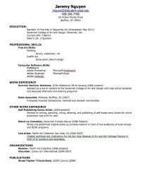 Resume Builder For High School Students Resume Builder Job Resume