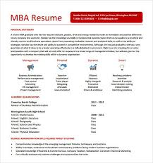 mba resume templates free samples examples amp format grad authentic  branding