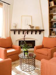 Orange Chairs Living Room 20 Nature Inspired Designs Hgtvs Decorating Design Blog Hgtv