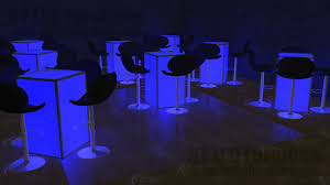 Lighted Cocktail Tables For Rent Led Table Rental Nassau County Party Furniture Rental