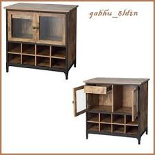 Buffet Table Cabinet Sideboard Servers Bar Furniture With Wine