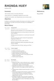 Brilliant Ideas of Truck Dispatcher Resume Sample On Free Download