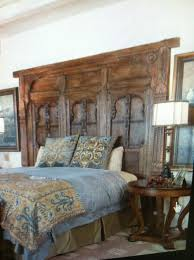 headboard made from old door