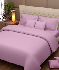 story home 152 tc 100 cotton light pink king size bedsheet with 2 pillow