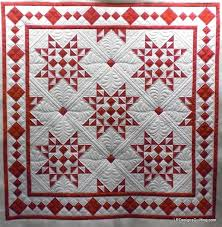 red and white. | Quilting/Pieced | Pinterest | Star quilts ... & Find this Pin and more on Quilting/Pieced by tjbp03. Celia's Red White  Challenge – Christmas Stars 3 Adamdwight.com