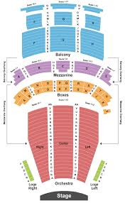 Endstage Seating Chart Interactive Seating Chart Seat Views