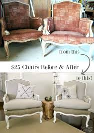 25 craigslist chairs before and after with simple sewing and no previous major upholstery skills