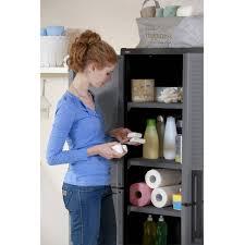 Tall Kitchen Utility Cabinets Space Winner Metro Storage Cabinet Walmartcom