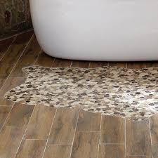 wood tile flooring in bathroom. Mosaic Wood Tile Flooring In Bathroom T