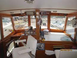 1953 macalpine nova scotia wheelhouse cruiser used classic wooden boat for in mississauga