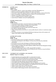 Sap Bpc Resume Samples Sap Bpc Resume Samples Velvet Jobs 2