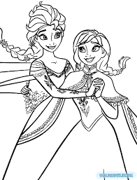 Disney Princess Coloring Pages Frozen Elsa From The Thousand