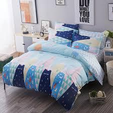 cartoon peppa pig bedding sets polyester duvet cover set bed sheet pillowcase twin full queen size