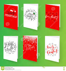 set of christmas brochures templates vector holidays cards set of christmas brochures templates vector holidays cards collection hand drawn lettering elements