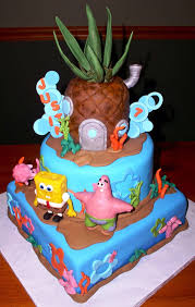 Spongebob Birthday Cakes Spongebob Birthday Cakes Protoblogr Design