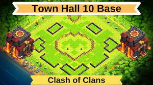 The Best Base Design For Clash Of Clans Best Th10 Trophy Farming Base With Copy Link Town Hall 10 Base Design Clash Of Clans