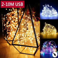 Usb Fairy Lights Details About 20 30 50 100leds Usb Copper Wire String Fairy Lights Home Party Decor Waterproof
