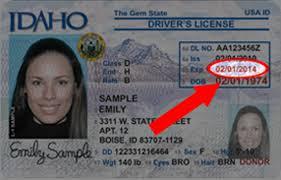 Renewal License Idaho Guide Drivers