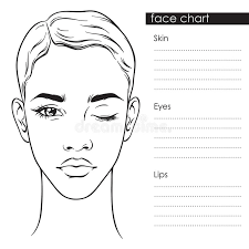 cdadfacaaedbdcabb face chart mac makeup face charts pictures of makeup face template