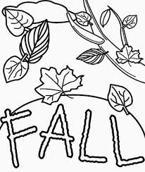Small Picture Fall Coloring Pages for Kids Creative Coloring Blog
